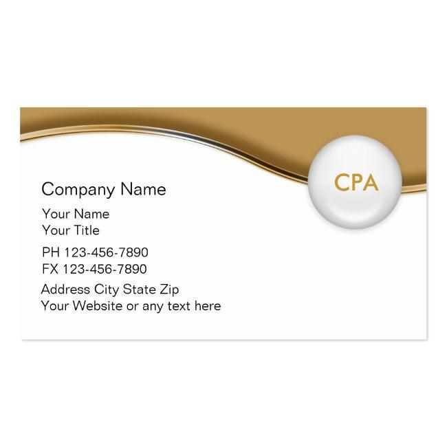 Accountant Indestructible Business Cards