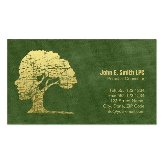 Green Psychologist Personal Counselor Appointment