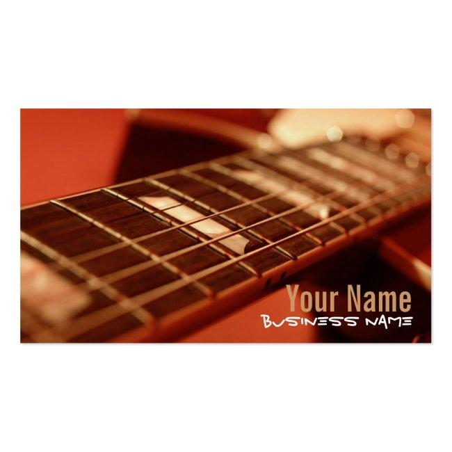 Guitar Strings Business Cards