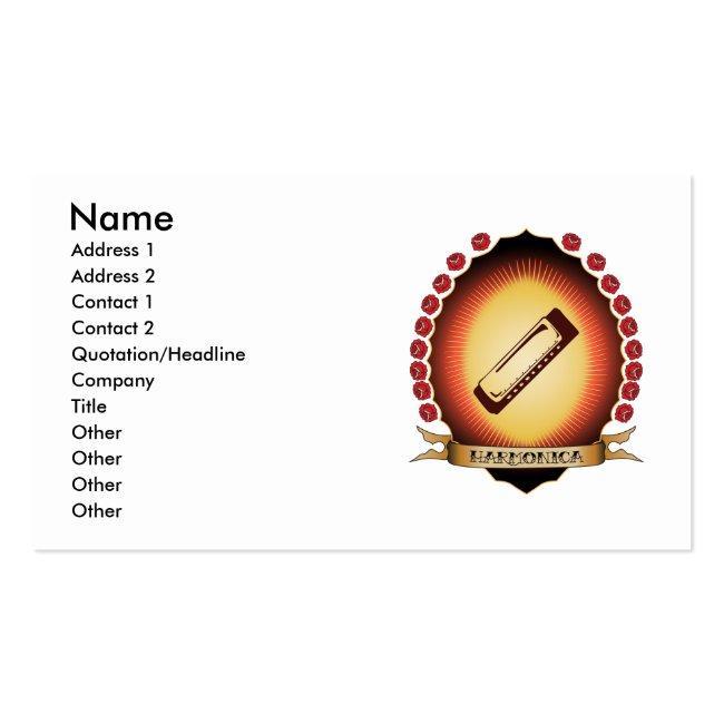 Harmonica Mandorla Business Card