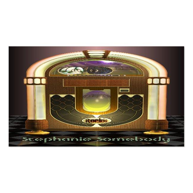 Jukebox Profile Card