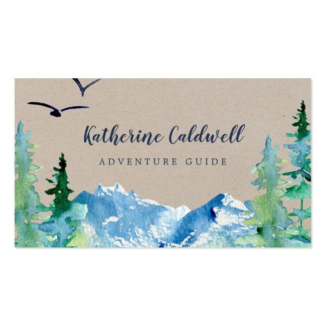 Kraft Rocky Mountain Adventure Guide Business Card