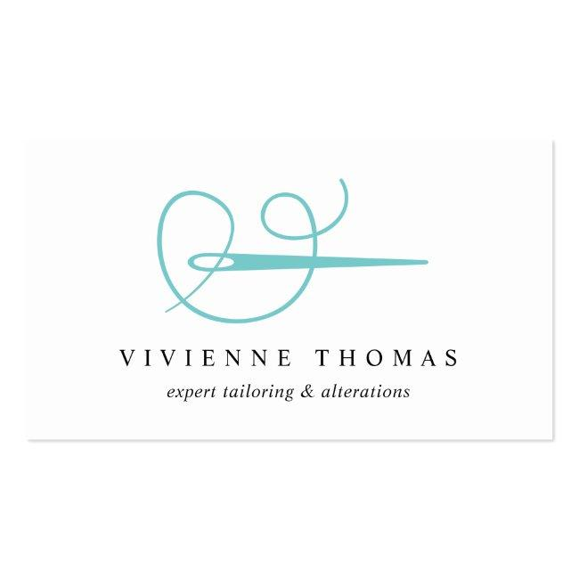 Needle & Thread | Seamstress Tailor Alterations Business Card