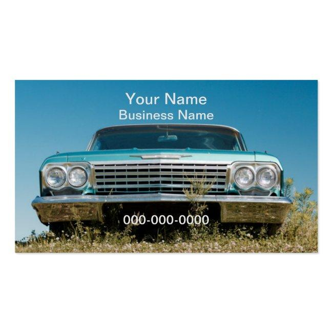 Old Car Business Card