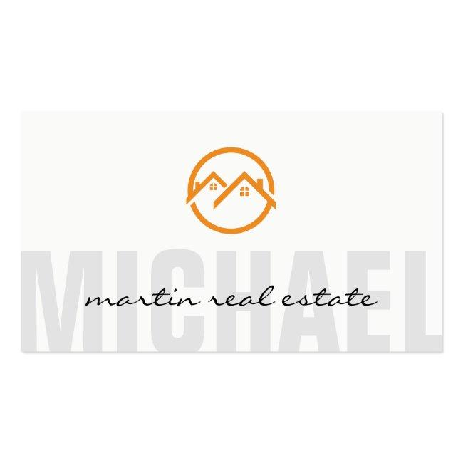 Real Estate Home Icons Business Card