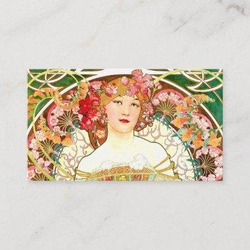 a mucha lady business card