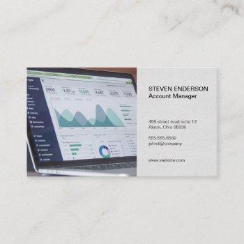 accounting | financial portfolio business card