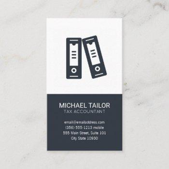 accounting  firm   tax prep   finance business card
