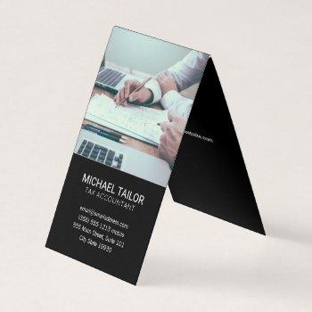 accounting   tax prep business card