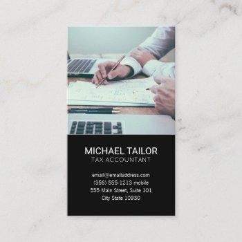 accounting | tax prep business card
