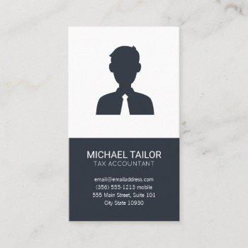 accounting | tax prep | finance business card