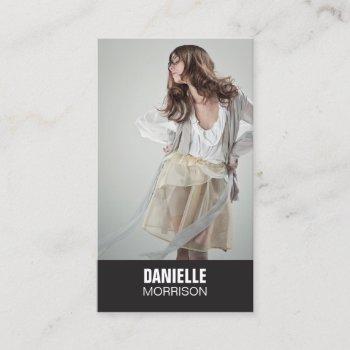 actors and models headshot no. 1 business card