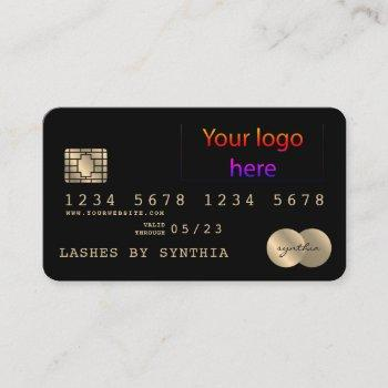 add your logo credit card style