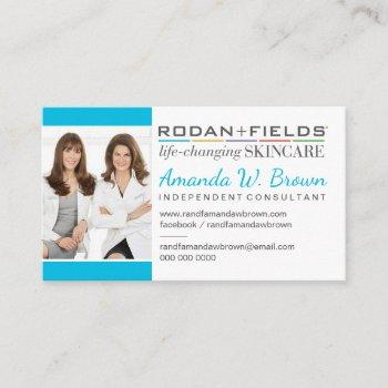 add your photo rodan and fields business card