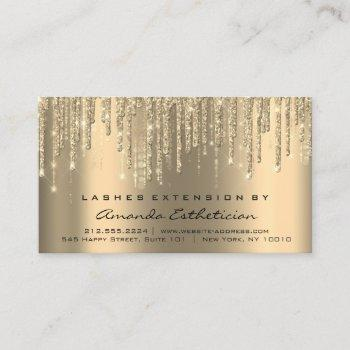 aftercare instructions eyelash extension drips business card
