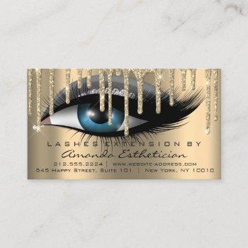 aftercare instructions eyelash extension vip business card