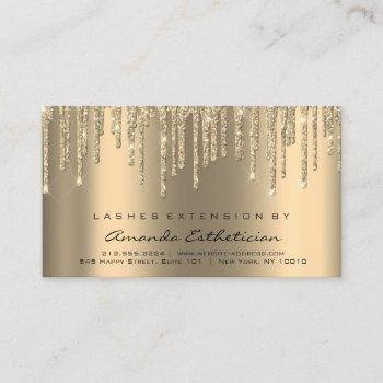 aftercare instructions lash extension sparkl drips business card