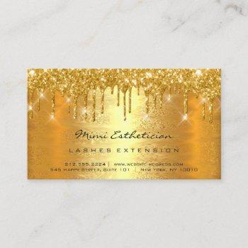 aftercare instructions lashes lux gold drips vip business card