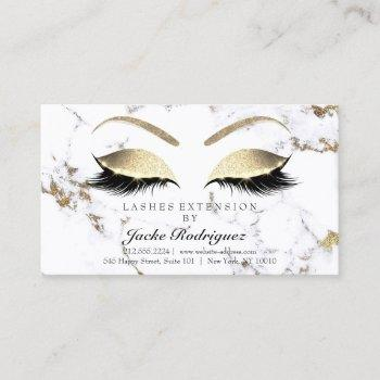 aftercare instructions lashes marble golden eyes1 business card