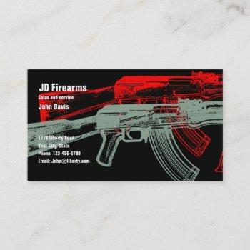 ak 47 business card