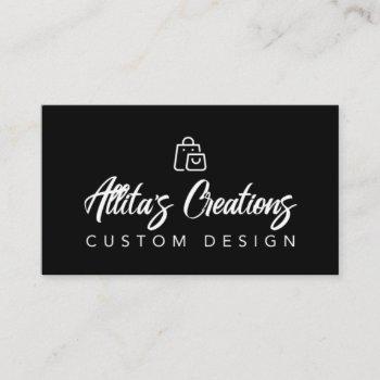 allita creations business card