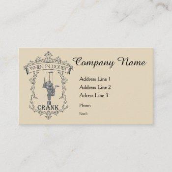 antique autoknitter circular sockknitting machine business card