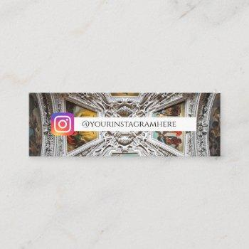 architecture ancient art mini business card