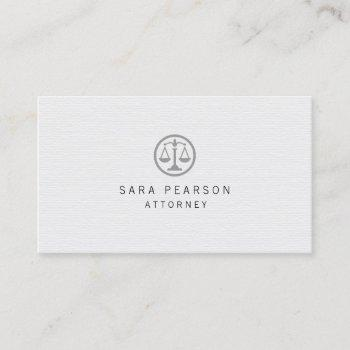 attorney lawyer elegant black justice scales icon business card