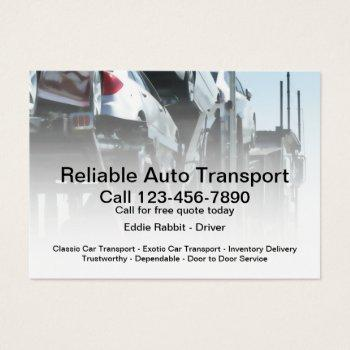 auto transport car carrier