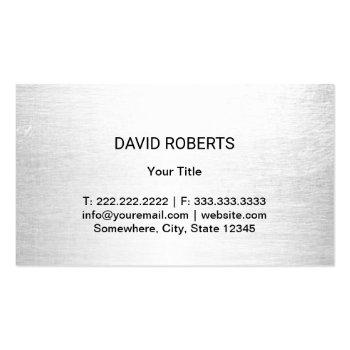 Small Automotive Car Wash & Auto Detailing Business Card Back View