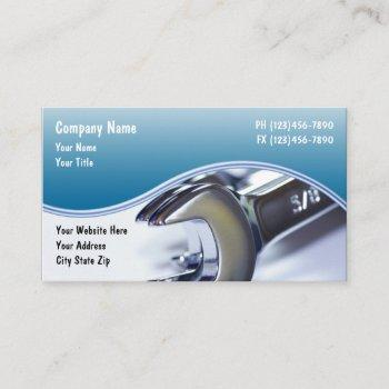 automotive modern theme business card