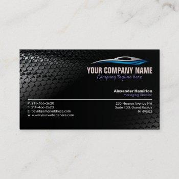 autoworks, auto repair,service and dealers business card