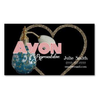 avon business card magnet