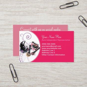 avon, social media business card