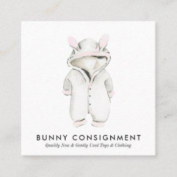 baby clothing business card