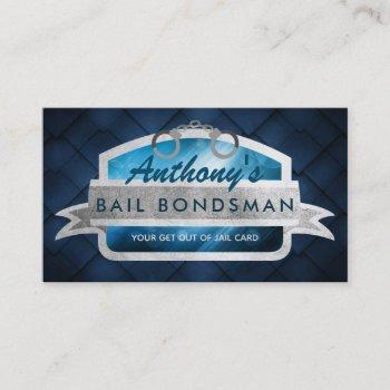 bail bondsman slogans business cards