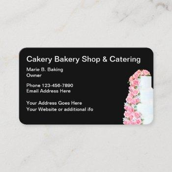 bakery and catering theme business card