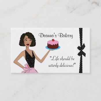 bakery pastry divalicious business cards