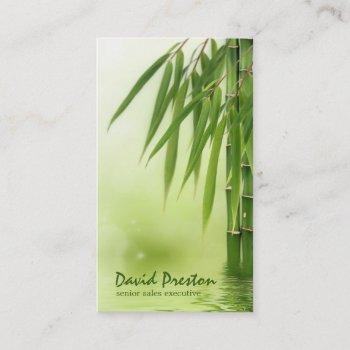 bamboo business card template