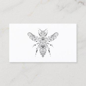 beauty bee business card