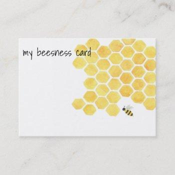 bees business card! business card
