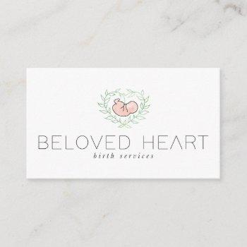beloved heart business card