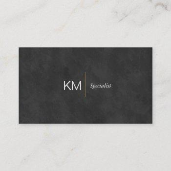 black lux   executive business card