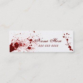 blood splatter business card v2