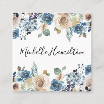 blooming beauty | square business card