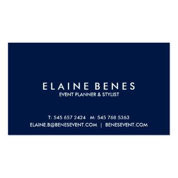 Small Blue Green And Gold Splatter Business Card Back View