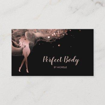 body sculpting fitness linergie waist trainer busi business card