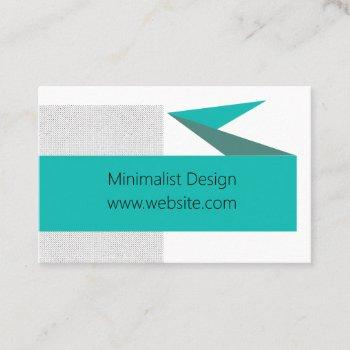 bold graphic text banner business card