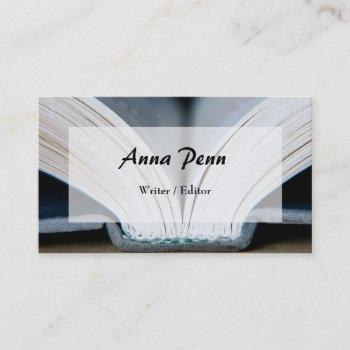 booklover's business cards