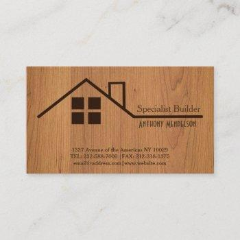 building reforms business card
